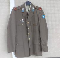 Giacca Drop Estiva Maresciallo Maggiore Paracadutisti Folgore Del 1993 Tg. 48 - Uniform