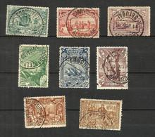 Portugal N°146 à 153 Cote 63 Euros - 1892-1898 : D.Carlos I