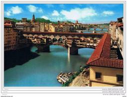 FIRENZE:  VEDUTA  DEI  PONTI  -  FG - Puentes