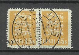 ESTLAND Estonia 1929 O VARBOLA + Zählnummer Michel 81 - Estland