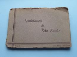 Lembrança De SAO PAULO Série B / Carnet De 10 Photocarte / Ansichtskarten / Cartes Vues ( Foto Postal COLOMBO ) ! - São Paulo