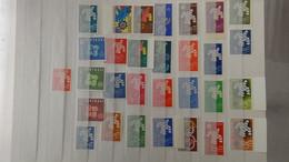 L47 Grosse Collection Timbres ** Thématique EUROPA Dont Bonnes Valeurs. Voir Commentaires - Sammlungen (im Alben)