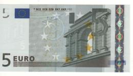 """5 EURO  """"P""""  Olanda     Firma Trichet     E 009 E2 /    FDS  - UNC - EURO"""