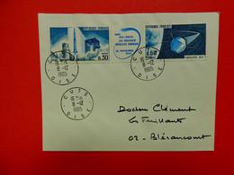 Cuts - Oise - N°1464/1465 - Fusée Diamant Et Satellite A1 - Espace - 1961-....