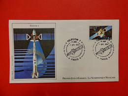 Paris - 1/9/1984 - Telecom 1 - Espace - 1980-1989