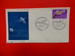 Issy Les Moulineaux - 26/6/1976 - Satellite Symphonie - Satellite Franco Allemand De Télécomunications - Espace - 1970-1979