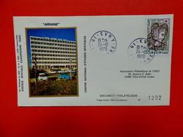 Evry - Essonne - 24/12/1979 - Centre National D'études Spatiales - ESA - Ariane - Espace - 1961-....