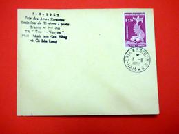 Viet Nam - Premier Jour Fête Des âmes Errantes - Dragon Et Poisson - Saïgon - 3/9/1952 - Vietnam