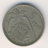 ESPANA 1957 60: 5 Pesetas, 1960, KM 786 - [ 5] 1949-… : Kingdom