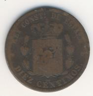 ESPANA 1878: 10 Centimos, KM 675 - [ 1] …-1931 : Kingdom