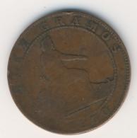 ESPANA 1870: 10 Centimos, KM 663 - [ 1] …-1931 : Kingdom