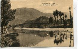 -48 - LOZERE - Gorges Du TARN-Molines-Le Pont De Quezac - Puentes
