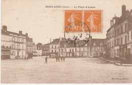 N°5139 R -cpa Mortagne -la Place D'Armes- - Mortagne Au Perche