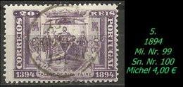 1893 - Mi. Nr. 99 - 1892-1898 : D.Carlos I
