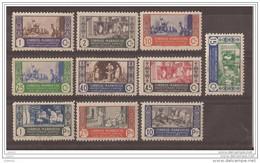MA260-L4124TAFRMAR.Maroc.Marcco .MARRUECOS ESPAÑOL ARTESANIA.1946. (Ed 260/9**)sin Charnela. - Maroc (1956-...)