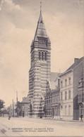 Merxem Gemmentehuis Circulée En 1916 Avec Cachet Militaire - Belgium