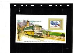 Histoires Des Transports - Explication Au Verso - L' Autobus - Busses