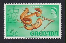 Grenada: 1968/71   Pictorial   SG314   15c  [Tree Boa]  MNH - Grenada (...-1974)