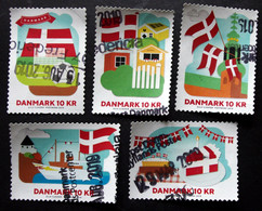Denmark 2019   Minr.1963-67   (O)        (lot G 151) - Danimarca