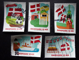 Denmark 2019   Minr.1963-67   (O)        (lot G 133) - Danimarca