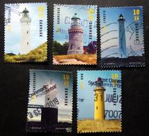 Denmark 2019   Lighthouse  Minr.1974-78   (O) (lot G 163) - Danimarca