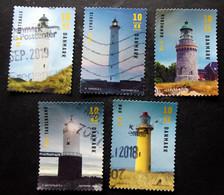 Denmark 2019   Lighthouse  Minr.1974-78   (O) (lot G 166) - Danimarca