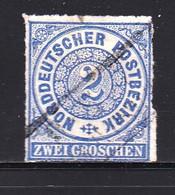 GERMANY-BADEN, 1866 ,  Used Stamp FIrst Issue 2 Groschen  ,  Michel 5 , Scannr. 16043 - Baden