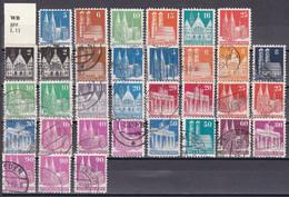 Men_ All. Besetzung Bizone - Mi.Nr. 73 - 100 - Postfrisch MNH + Gestempelt Used - Unterschiedliche Zähnungen - American/British Zone