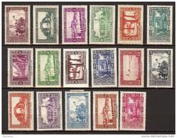 Algérie N° 102 Et Suivants * - Unused Stamps