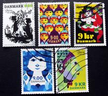 Denmark 2018  The 100th Anniversary Of Bjørn Wiinblad's Birth  Minr.1937-41  (O)        (lot G 172) - Danimarca