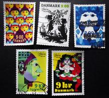 Denmark 2018  The 100th Anniversary Of Bjørn Wiinblad's Birth  Minr.1937-41  (O)        (lot G 181) - Danimarca