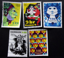 Denmark 2018  The 100th Anniversary Of Bjørn Wiinblad's Birth  Minr.1937-41  (O)        (lot G 184) - Danimarca