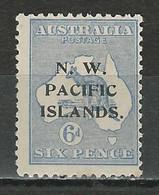 New Guinea SG 78, Mi 7 I * MH Type A - Papua New Guinea