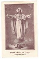 SACRE COEUR DE JESUS AYEZ PITIE DE NOUS FR CARD RICHARD SOUVENIR IMAGE PIEUSE HOLY CARD SANTINI PRENTJE - Andachtsbilder