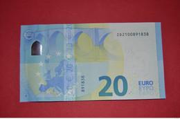 BELGIUM - Z020 B3 * 20 EURO  - ZD2100891838 - NEUF - UNC - 20 Euro