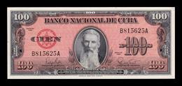 Cuba 100 Pesos F. Aguilera 1959 Pick 93 SC UNC - Cuba