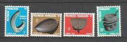 Timbre De Polynésie Francaise  Taxe En Neuf ** N 4/7 - Unused Stamps