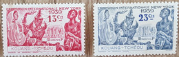 Kouang Tcheou - YT N°118, 119 - Exposition Internationale De New York - 1939 - Neufs - Unused Stamps