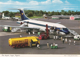 LAGOS - NIGERIA - THE AIRPORT - NIGERIA AIRWAYS - AVIAZIONE - AEREO - AVIATION - AVION - AIRPLANE - SHELL - Nigeria