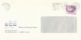 "Motiv Brief  ""ECG Electronics Components Geneva Grand Lancy""             1974 - Svizzera"