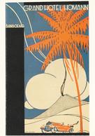 1884      51           Jan Lavies, (1902-2005), Affichekunstenaar Van De 20ste Eeuw. 1997 ? Folder Hote - Publicidad