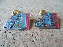 2 PIN'S    MOTO YAMAHA - Motorfietsen