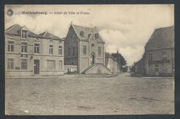 +++ CPA - MARIEMBOURG - Couvin - Hôtel De Ville Et Poste // - Couvin