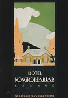 1884      189         Jan Lavies, (1902-2005), Affichekunstenaar Van De 20ste Eeuw. 1999 / Folder Ned.-Ind - Publicidad