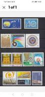 1977 -1986 LOTS 10 COMPLETE SET  Saudi Arabia SC # 725-782-83824-845-895-924938 - Saudi-Arabien