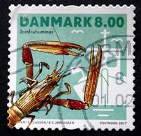 Denmark 2017  Shellfish     MiNr.1910  (O)  ( Lot G 93) - Danimarca