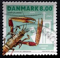 Denmark 2017  Shellfish     MiNr.1910  (O)  ( Lot G 94) - Danimarca