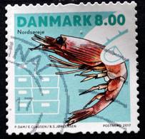 Denmark 2017  Shellfish     MiNr.1911  (O)  ( Lot G 95) - Danimarca