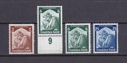 Deutsches Reich - 1935 - Michel Nr. 565/566 + 568 - Postfrisch - 100 Euro - Deutschland