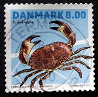 Denmark 2017  Shellfish     MiNr.1909  (O)  ( Lot  G 96) - Danimarca